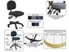 BENCHPRO™ ESD CLEANROOM INDUSTRIAL CHAIRS WITH ARMS