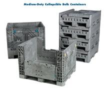 MEDIUM-DUTY COLLAPSIBLE BULK CONTAINERS