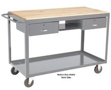 MEDIUM-DUTY MOBILE WORK TABLE