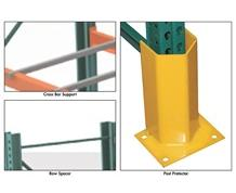 ACCESSORIES FOR AMS PALLET RACKS