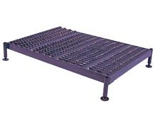 ADJUSTABLE HEIGHT STEEL WORK PLATFORM