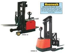 ELECTRIC WALKIE REACH STACKER